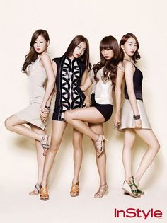 "SISTAR is a 4 member girl group formed under Starship Entertainment. SISTAR is known to sport a sexy, confident but also tough image. Lead singer Hyorin is considered the ""Korean Beyoncé"" due to her talent, charming personality and amazing stage presence. SISTAR in fact works the same charms as once Destiny's Child did. Soyu, Dasom, Bora and Hyorin are women who are all-around captivating."