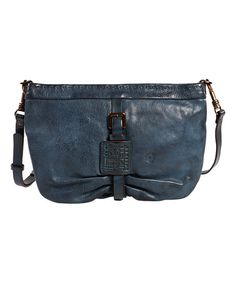 Look what I found on #zulily! Navy Leather Tansy Crossbody Bag #zulilyfinds