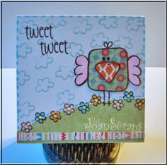 I love the paper piecing.. and this is simply so cute! from www.thealleywaystamps.com enter to win free stamp sets on blog www.thealleywaystamps.blogspot.com BE inspired Challenge