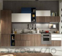 #kitchen #design #interior #furniture #furnishings #interiordesign комплект в кухню Snaidero Abaco, Strip_BO