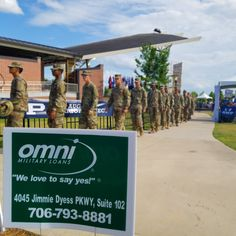 Augusta, GA- Thunder Over Evans was a blast! Thank you to everyone who visited us at the Omni booth.