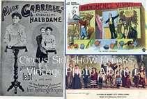 Circus Sideshow Freaks - Vintage Photo Album
