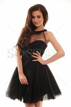 Bust buretat, cu push-up. Push Up, Beautiful, Black, Dresses, Fashion, Vestidos, Moda, Black People, Fashion Styles
