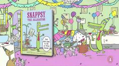 Snappsy the alligator is having a normal day when a pesky narrator steps in to spice up the story. Is Snappsy reading a book . or is he making CRAFTY plans. Great Books, New Books, Books To Read, 1st Grade Books, Book Trailers, Spice Things Up, Nerdy, Fiction, Author
