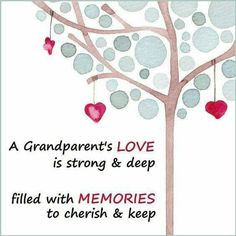 A Grandparent's Love ...