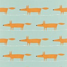 Tissu au mètre Monsieur Renard Mr Fox : Tissus à thème par kamea-cloudy-and-skiough