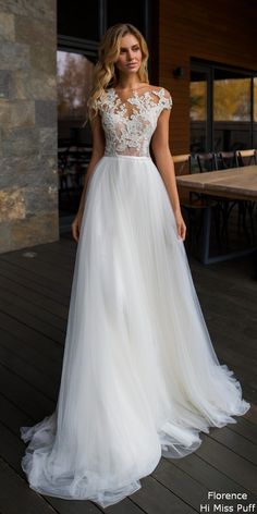 Florence 2019 Despacito Collection Wedding Dress by Florence Wedding Fashion 2019 Despacito Bridal Collection Wedding Robe, Dream Wedding Dresses, Bridal Dresses, Wedding Gowns, Post Wedding, Party Dresses, Wedding Ceremony, Wedding Rings, Lace Weddings