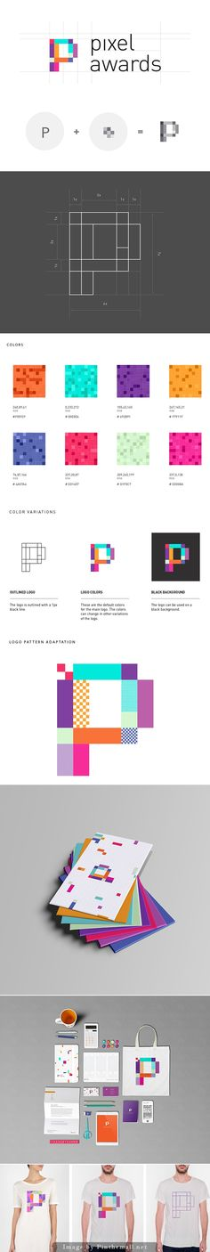 Pixel Awards by Florence Libbrecht