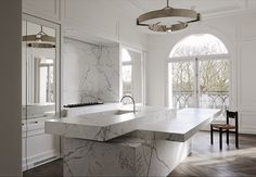 Valerie adoooore: The Neuilly apartment designed by Joseph Dirand with the kitchen he did for Obumex, what else!