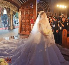 Marian Rivera Wedding Gown by Michael Cinco