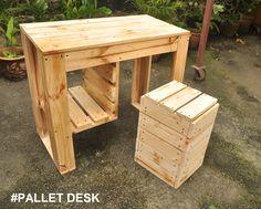 #Pallet Desk MYR175 | Waris Papan