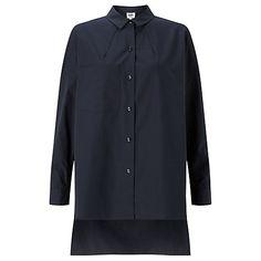 Buy Kin by John Lewis Oversized Shirt, Navy Online at johnlewis.com