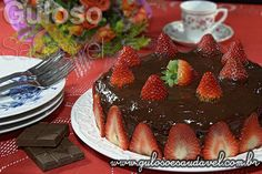 Receita de Torta Genoise de Chocolate