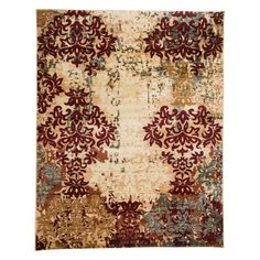 Found it at Wayfair - Grace Ivory/Red Area Rug