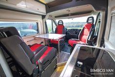 Fiat Ducato Camper 4 plazas viajar y dormir Ducato Camper, Fiat Ducato, Camper Caravan, Camper Van, Van Conversion Interior, Custom Campers, Complete Bathrooms, Camper Makeover, Campers