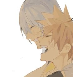 These two really need some more quality time together after being apart for so long, kingdom hearts