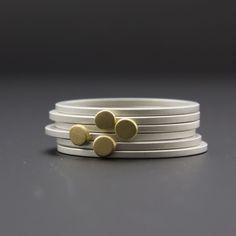 cocoandchia tiny stack ring set