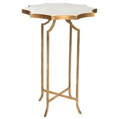 Aidan Gray Furniture Giusti Gold Occasional Table Set of 2 #laylagrayce