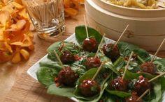Mini Taiwanese Meatballs Recipe by Ching-He Huang