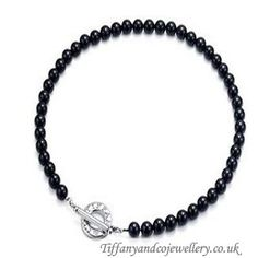 http://www.cheaptiffanyclub.co.uk/low-tiffany-and-co-necklace-continuous-bead-black-047-in-low-price.html#  Greatest Tiffany And Co Necklace Continuous Bead Black 047 Online