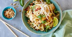 This pad Thai with the delicious combination of chicken and prawns is a taste member favourite.