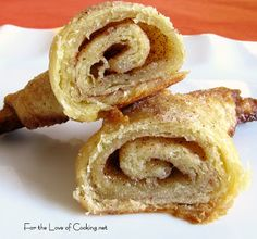 For the Love of Cooking » Cinnamon Crescent Rolls