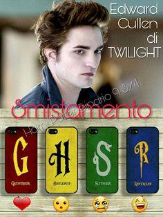 Adesso tocca a smistare #EdwardCullen di #Twilight ⚡ Tocca a voi #CappelloParlante ⚡  ⚡Hermione⚡