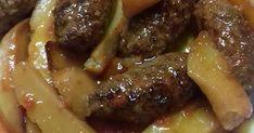 Πεντανόστιμα Σμυρνέικα σουτζουκάκια οπός τα φτιάχνει η γιαγιά !!! Υλικά -Εκτέλεση 600 γρ κιμά μοσχάρι. 4 φέτες ψωμί μουσκεμένες σε...