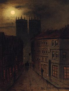Petergate, York  by Wilfred Jenkins