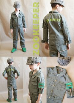Frugal costume ideas frontiersman zookeeper and more kid awesome kids zookeeper outfit petit a petit family for project run play solutioingenieria Images
