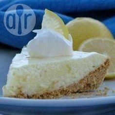 Cheesecake de limão de geladeira @ allrecipes.com.br