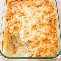 Classic scalloped potatoes are great for the holidays, but a slimmer, quicker version works better on Tuesday night.