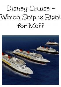 Don't know which ship to go on - well, you can't go wrong with any of them... but this may help you decide