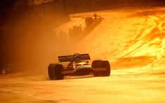 Peter Gethin at Montjuïc 1971, McLaren Schlegelmilch Photography