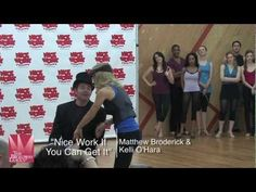 "Broadway Behind the Scenes: In Rehearsal with the cast of ""Nice Work If You Can Get It"""