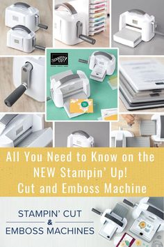 I've got all the details on everything you need to know about the NEW Stampin' Up! Cut and Emboss Machine. Come check it out at www.lisasstampstudio.com #cardmakingtools #scrapbookingtools #stampinupcutandembossmachine #diecutmachine #diecuttingmachine #papercrafttools #papercrafting #lisacurcio #lisasstampstudio #stampinup #stampinupcards