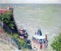 Gustave Caillebotte - Pink Villas at Trouville