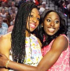 #Nneka #Chiney #Ogwumike #WNBA #Draft #2014 #Sisters #Natural #Makeup