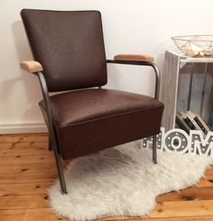 Loft style refurbished armchair. www.fabrix.hu