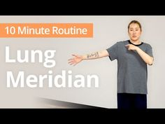 Do you experience frequent or chronic chest pain? Try this 10 minute routine for opening the Lung Meridian channel, which is in charge of helping you breathe. Daily Exercise Routines, Breathe Easy, Chest Workouts, Self Healing, Chinese Medicine, Lunges, Real Life, Exercises, Health