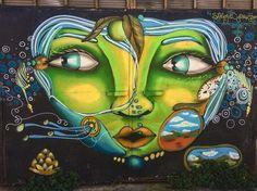 Mirrow of nature... Follow us @arty.city #streetartistry #arteurbano #artstreet #art #valparaiso