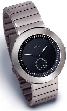 Botta Helios Titanium Black Watch - The Coolest Watches from Watchismo.com