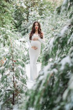 7ca8116fac5 A Fairytale Princess Mama in the Snow