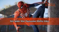 Sony E3 2017 etkinliğinde, merakla beklenen yeni Spider Man oyunundan da bir video paylaşıldı. Oyun içi video, beklentileri hayli yükseltti.