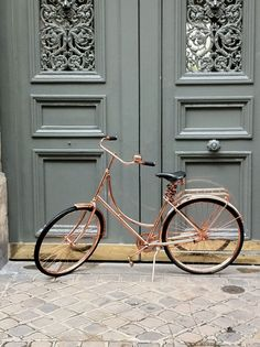 Van Heesch's Copper Bicycle #bicycle