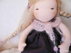 ~ Valëry , OOAK natural doll by FeeVertelaine