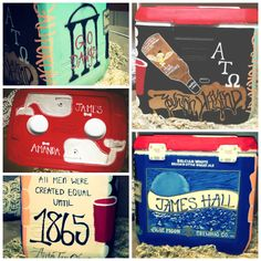 Fraternity mountain weekend cooler