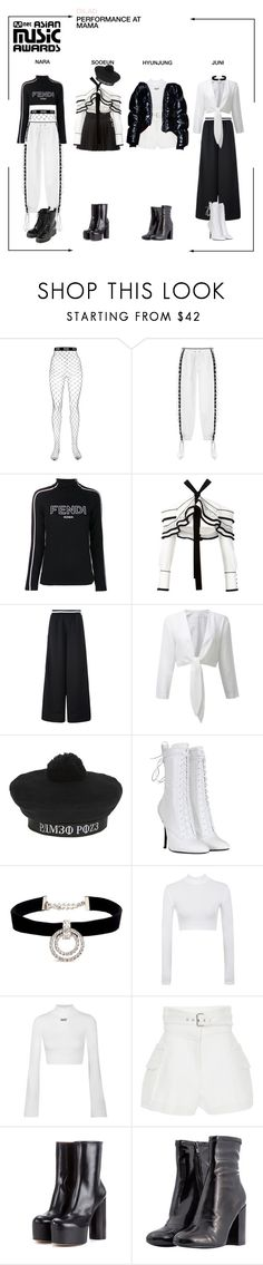 """""""DILAD (딜라드) 'SOMEDAY' at MAMA 2017"""" by dilad-official ❤ liked on Polyvore featuring GCDS, Puma, Fendi, Proenza Schouler, Balmain, Kenneth Jay Lane, Off-White, Derek Lam and mnetama"""