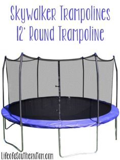 Backyard Fun with Skywalkers 12' Round Trampoline Review