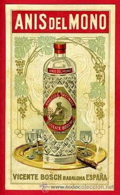 """ Rascant la botella amb un ganivet! Pub Vintage, Vintage Labels, Vintage Cards, Vintage Signs, Vintage Images, Retro Poster, Poster Ads, Retro Ads, Vintage Advertising Posters"
